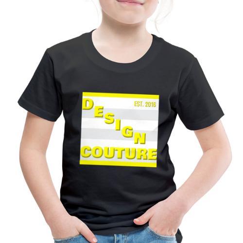 DESIGN COUTURE EST 2016 YELLOW - Toddler Premium T-Shirt