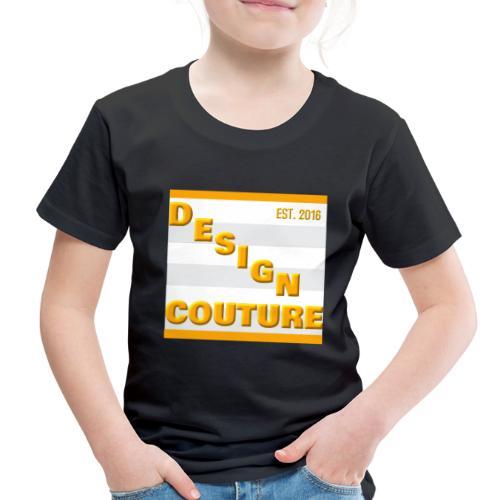 DESIGN COUTURE EST 2016 ORANGE - Toddler Premium T-Shirt