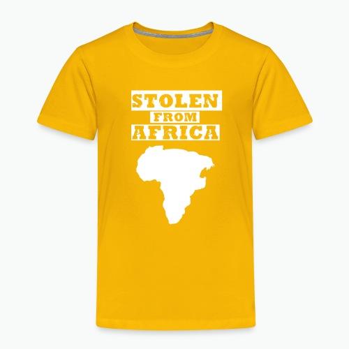 SFA LOGO WHITE - Toddler Premium T-Shirt