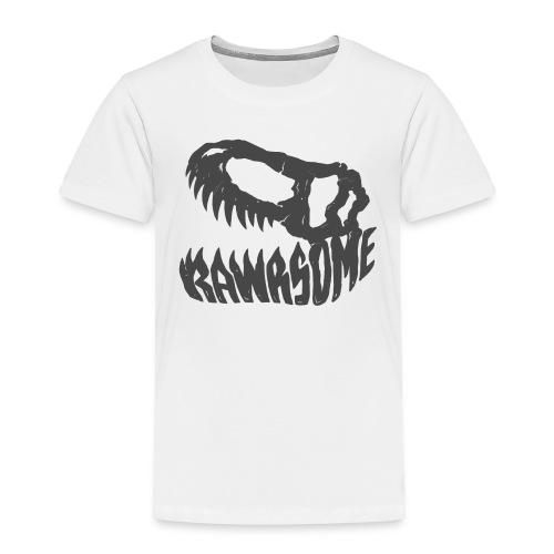 RAWRsome T Rex Skull by Beanie Draws - Toddler Premium T-Shirt