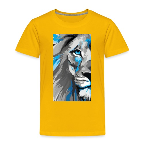 Blue lion king - Toddler Premium T-Shirt