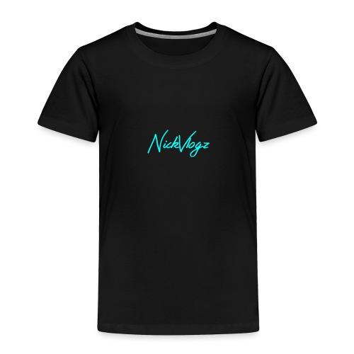 NickVlogz - Toddler Premium T-Shirt
