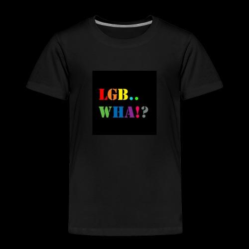 Subhan Squad LGB.. WHA!? logo t-shirt - Toddler Premium T-Shirt