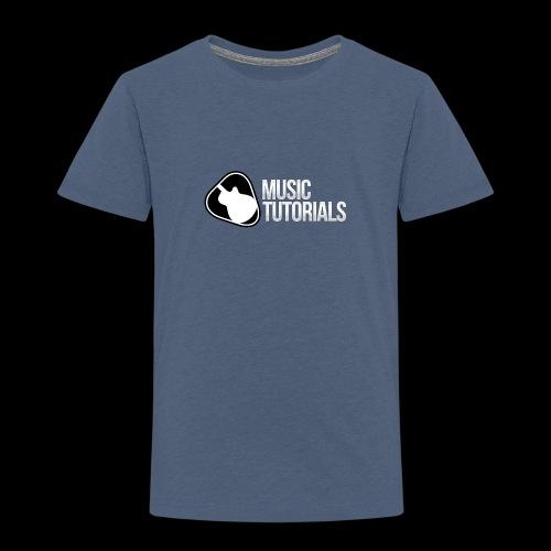 Music Tutorials Logo - Toddler Premium T-Shirt