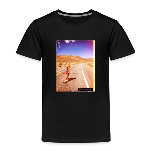 Hot Longboarder - Toddler Premium T-Shirt