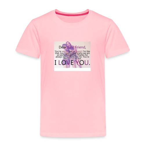 Cute best friends - Toddler Premium T-Shirt