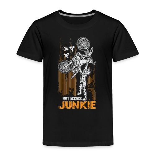 Motocross Junkie - Toddler Premium T-Shirt