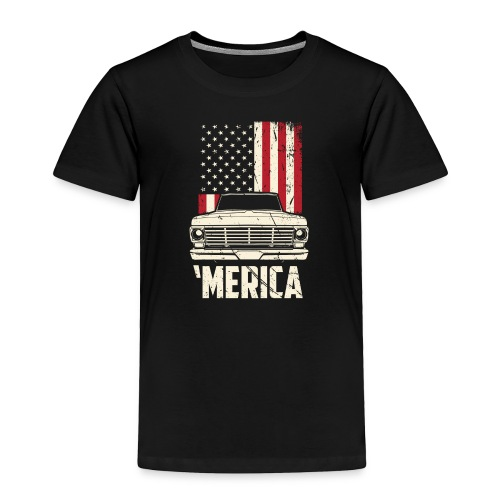 'Merican F100 Truck Men's T-Shirt - Toddler Premium T-Shirt