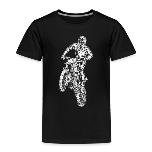 Motocross Dirt Bike Stunt - Toddler Premium T-Shirt