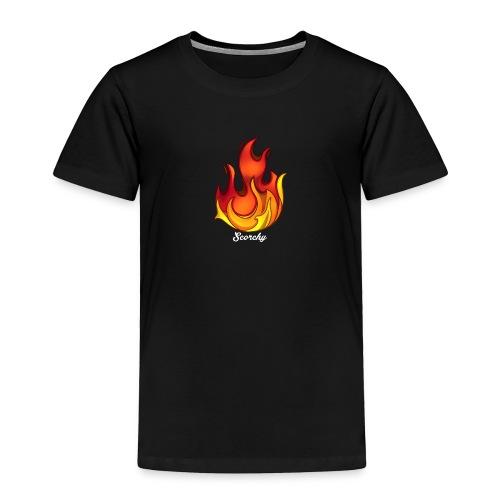 Scorchy White Logo - Toddler Premium T-Shirt