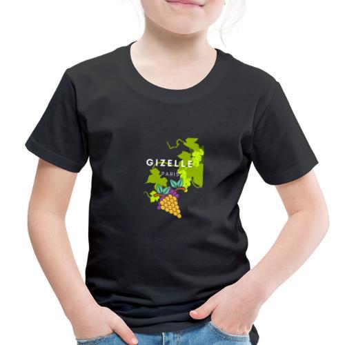 Gizelle Paris Snow Grapes Trans - Toddler Premium T-Shirt