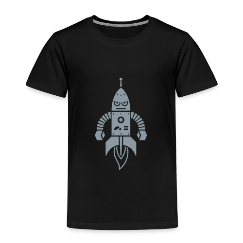 Rocket Robot - Toddler Premium T-Shirt