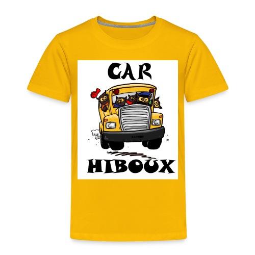 Car-Hibou - Toddler Premium T-Shirt
