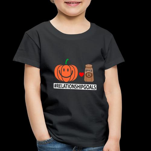 Relationship Goals | Caffeinated Love - Toddler Premium T-Shirt