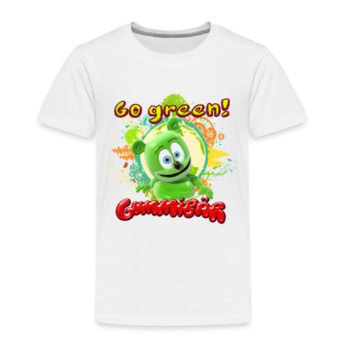 Gummibär Go Green Earth Day Trees - Toddler Premium T-Shirt