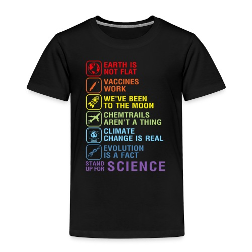 stand up for science shirt - Toddler Premium T-Shirt