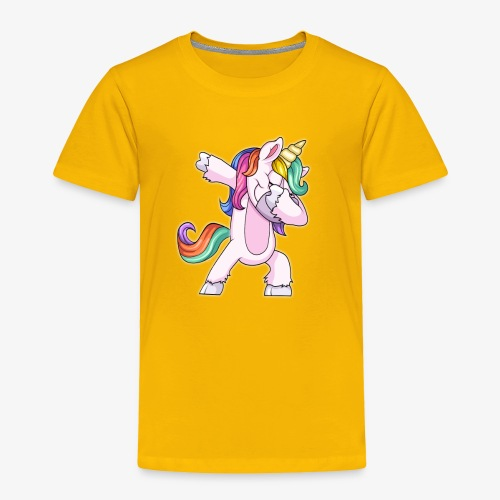 DABBING UNICORN Kid - Toddler Premium T-Shirt