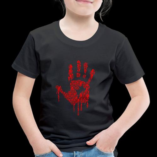 The Haunted Hand Of Zombies - Toddler Premium T-Shirt