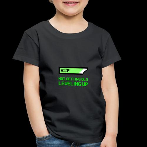 Not Getting Old - Leveling Up - Toddler Premium T-Shirt