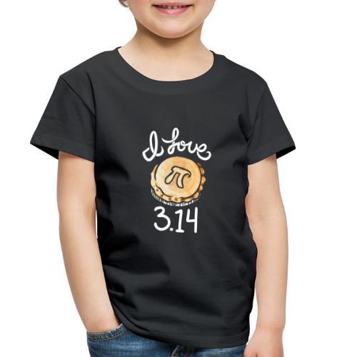 I love Pi - Toddler Premium T-Shirt