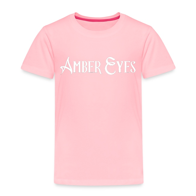 AMBER EYES LOGO IN WHITE