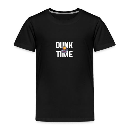 DUNKTIME Simple Logo - Toddler Premium T-Shirt