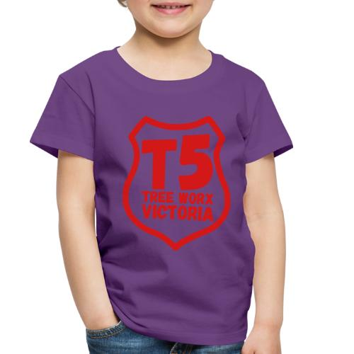 T5 tree worx shield - Toddler Premium T-Shirt