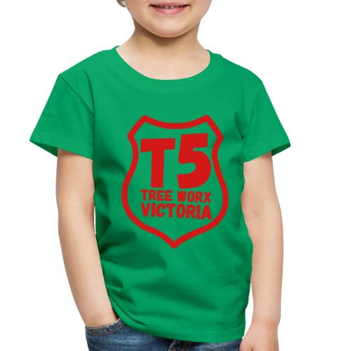 T5 tree worx shield - Toddler Premium T-Shirt