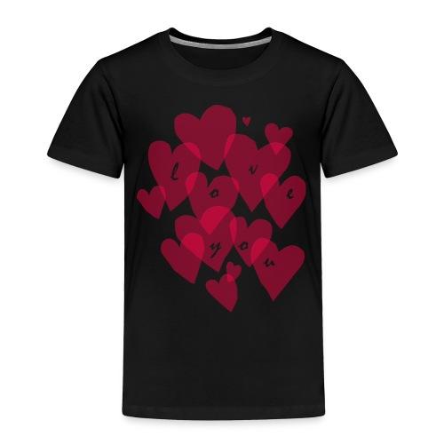love you - Toddler Premium T-Shirt