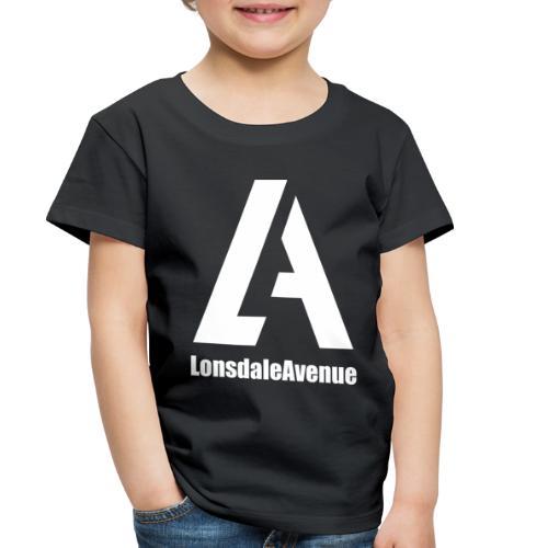 Lonsdale Avenue Logo White Text - Toddler Premium T-Shirt