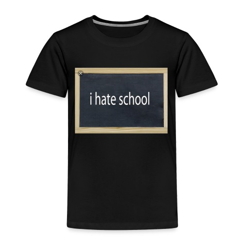 School - Toddler Premium T-Shirt