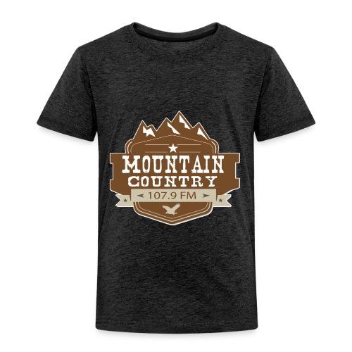 Mountain Country 107.9 - Toddler Premium T-Shirt