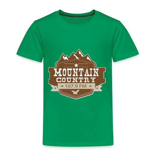 Mountain Country 107.9 - Toddler Premium T-Shirt
