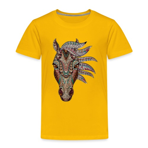 Horse head - Toddler Premium T-Shirt