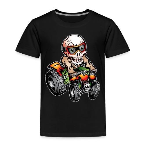 Off-Road ATV Skull Rider - Toddler Premium T-Shirt