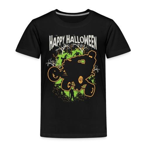 ATV Quad Happy Halloween - Toddler Premium T-Shirt