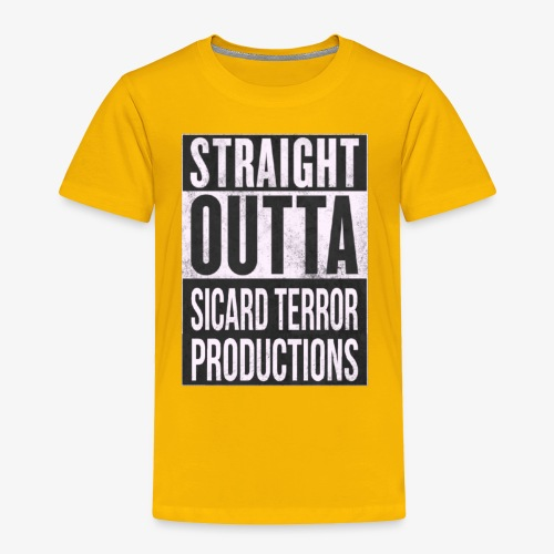 Strait Out Of Sicard Terror Productions - Toddler Premium T-Shirt