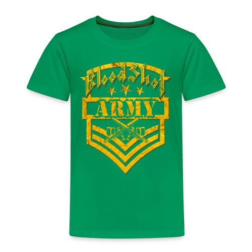 BloodShot ARMY Logo - Toddler Premium T-Shirt