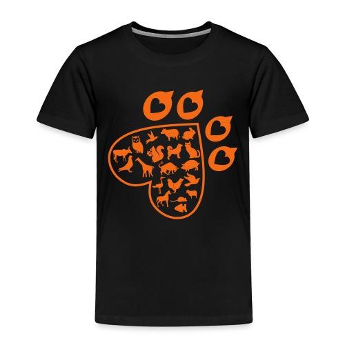 Animal Love - Toddler Premium T-Shirt