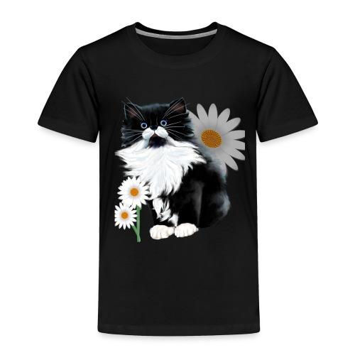 Little Tux Kitten-Daisy - Toddler Premium T-Shirt