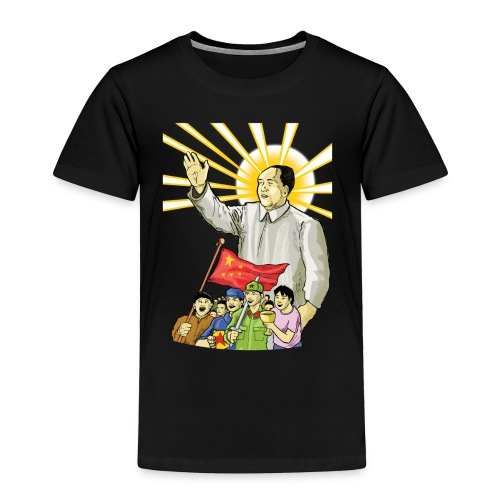 Mao Waves to the People - Toddler Premium T-Shirt