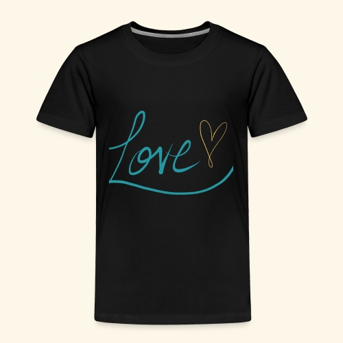 L.O.V.E. - Toddler Premium T-Shirt