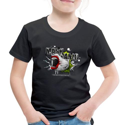 mask panic - Toddler Premium T-Shirt