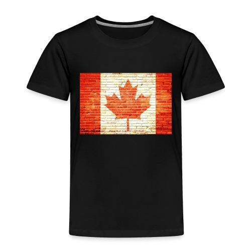 Canada flag - Toddler Premium T-Shirt