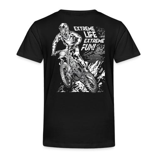 Motocross Extreme Fun - Toddler Premium T-Shirt