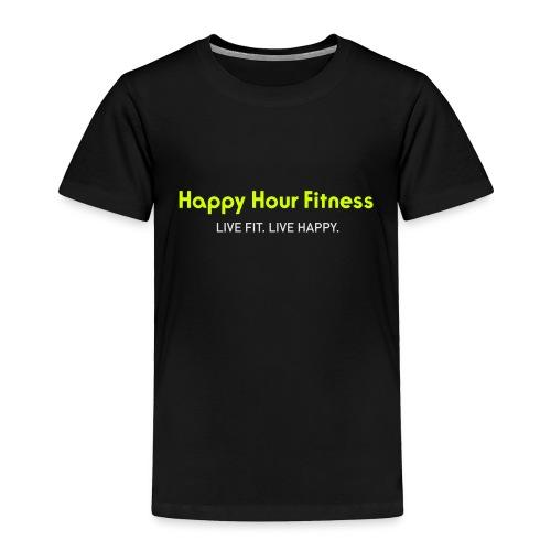 HHF_logotypeandtag - Toddler Premium T-Shirt
