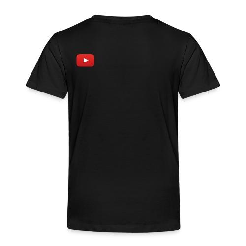 YouTube icon full color - Toddler Premium T-Shirt