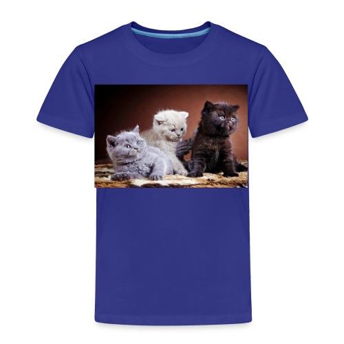 The 3 little kittens - Toddler Premium T-Shirt