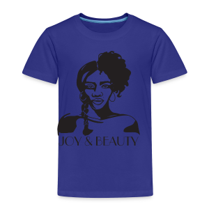 Joy and Beauty Logo - Toddler Premium T-Shirt