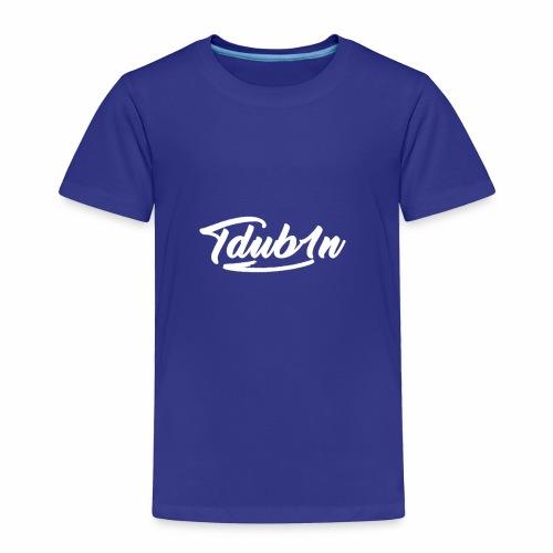 Tdub1n White Logo - Toddler Premium T-Shirt